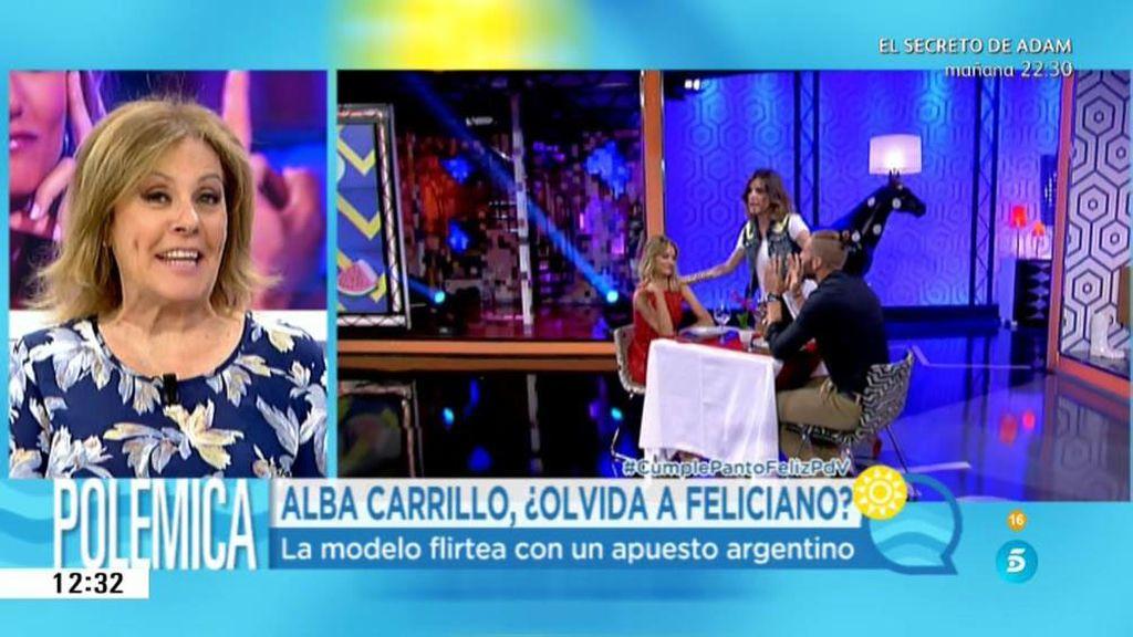 """Alba Carrillo, de Matías de 'First dates': """"La verdad es que no tenía mucha gracia"""""""