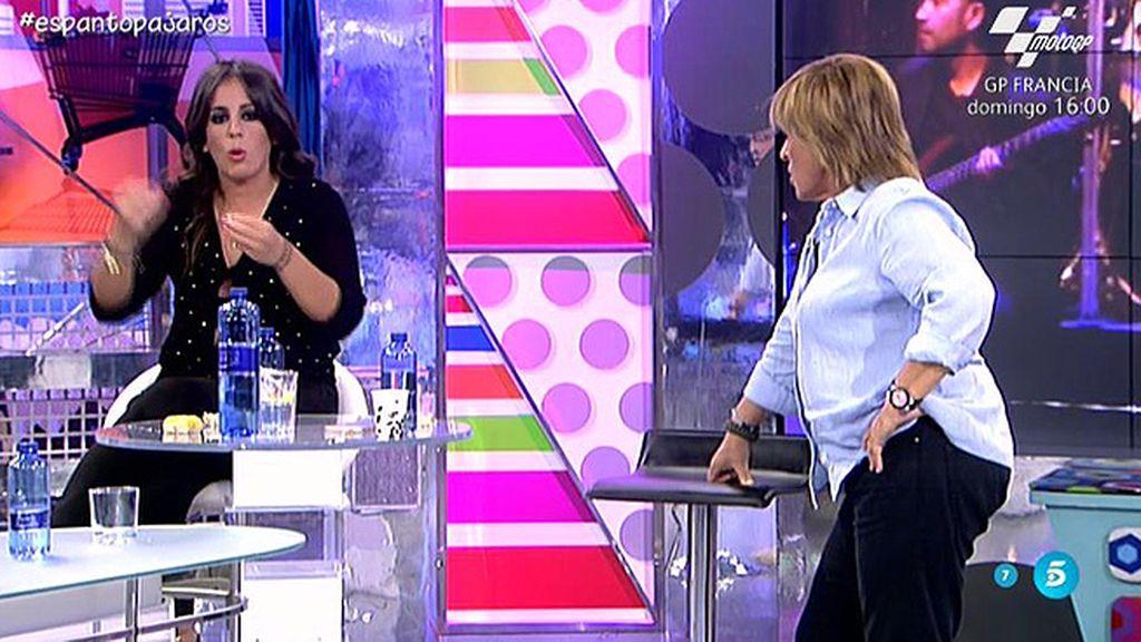 Una intervención 'Sálvame', motivo de discordia entre Chelo Gª Cortés y Pantoja