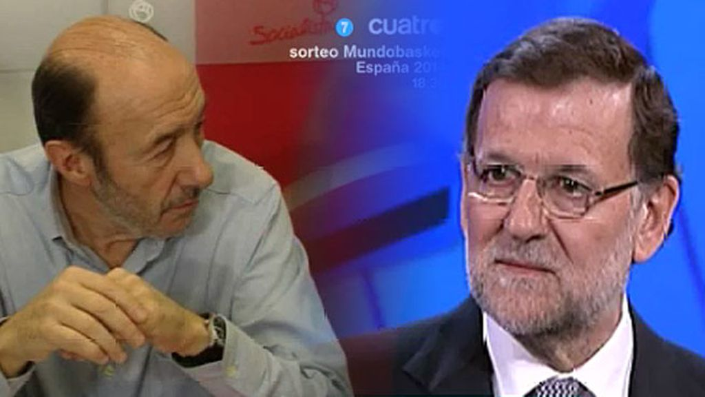 """Rajoy, de Rubalcaba: """"O te callas o reconoces el mérito de la gente"""""""
