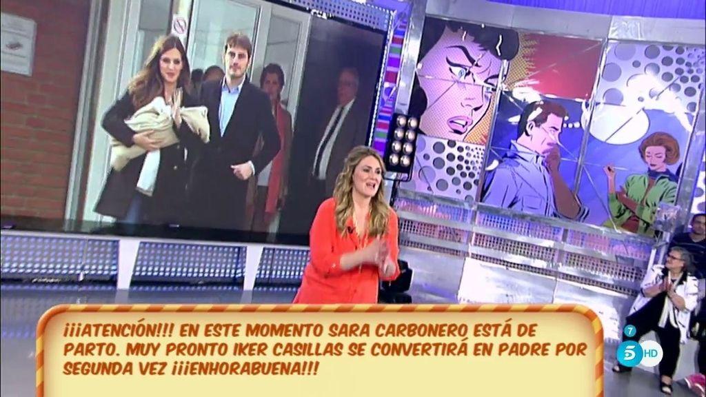 """Carlota Corredera: """"Sara Carbonero está a punto de volver a ser mamá"""""""