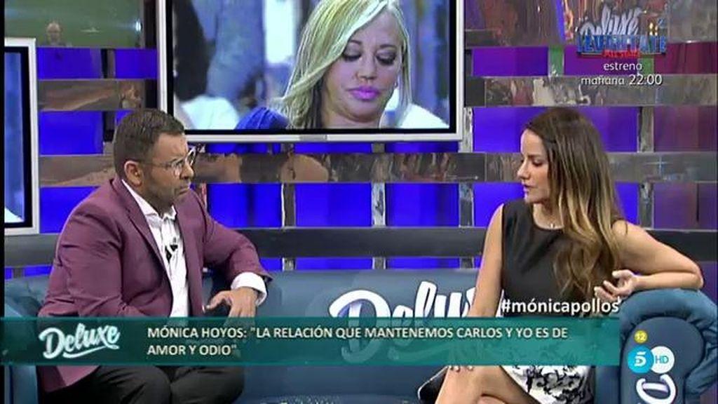 """Mónica: """"La única persona que puede intervenir en mi 'Deluxe' es Carlos"""""""