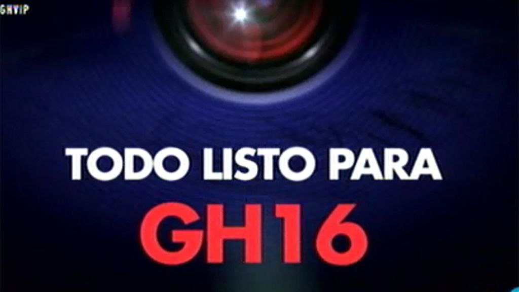Todo listo para 'GH 16'