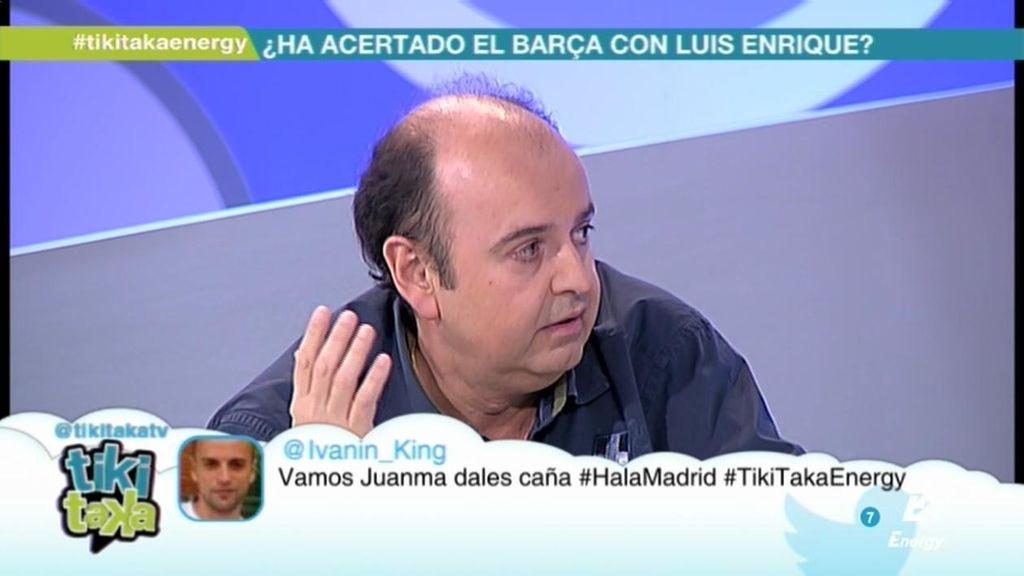 """Juanma Rodríguez, sobre la final de la Champions: """"El favorito es el Atlético"""""""