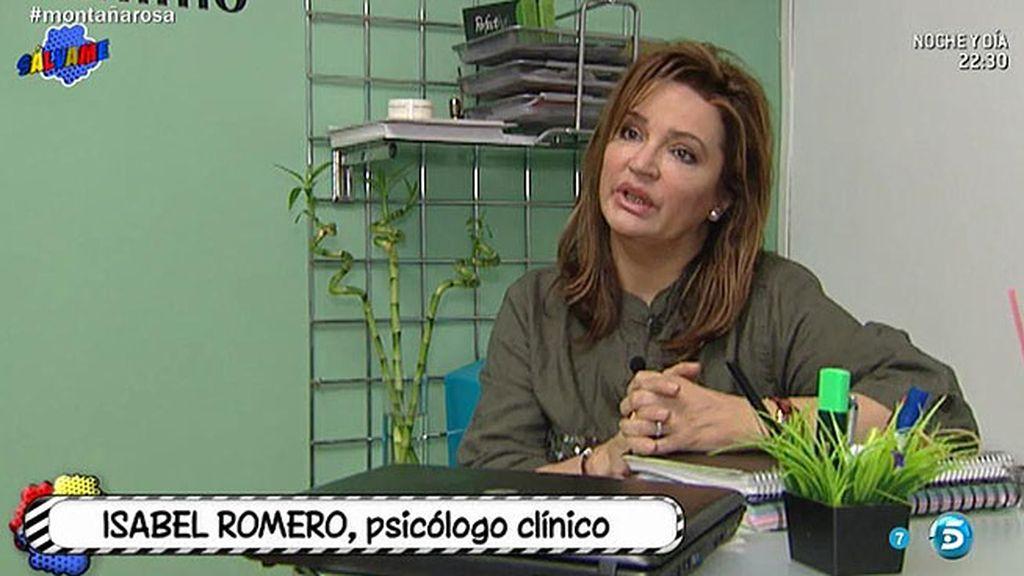 "Isabel Romero, psicóloga: ""Rosa Benito está al borde del colapso emocional"""