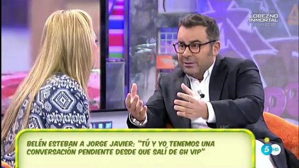 """Jorge Javier, a Belén: """"A mí no me gustó tu participación en la casa"""""""