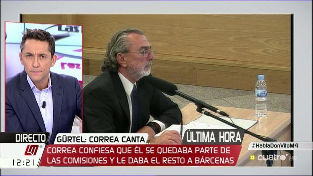 """Correa: """"No existe un solo Francisco Correa, es una práctica habitual en el país"""""""
