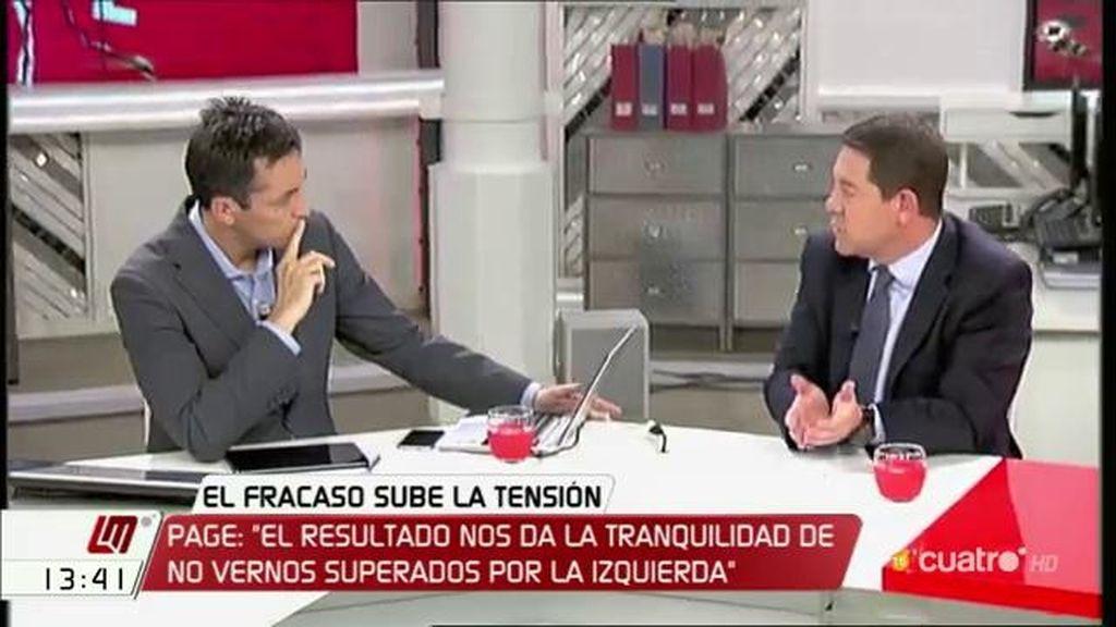 """Emiliano García - Page: """"Tendremos más futuro si, en vez de echarnos reproches, intentamos cambiar las circunstancias"""""""