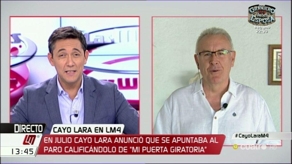 """Cayo Lara, del PP: """"No se puede poner a la zorra a guardar gallinas"""""""