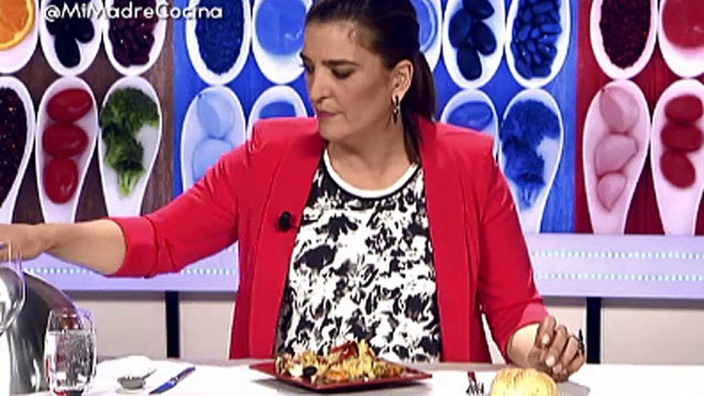 Mª Jiménez Latorre pondría el plato de Montse en su lista de recetas para olvidar
