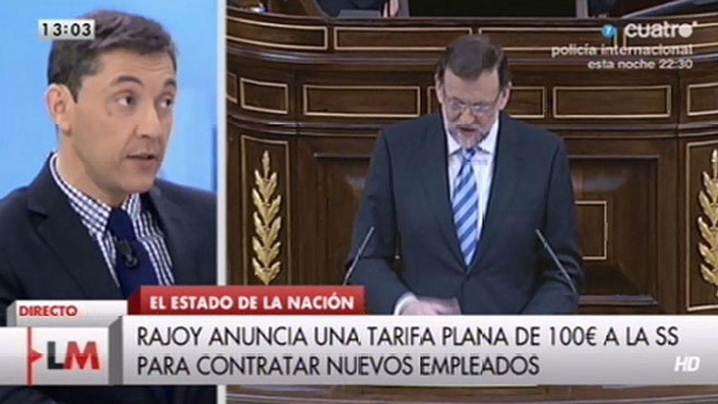 """Javier Ruiz valora las medidas anunciadas: """"No es una reforma fiscal revolucionaria"""""""