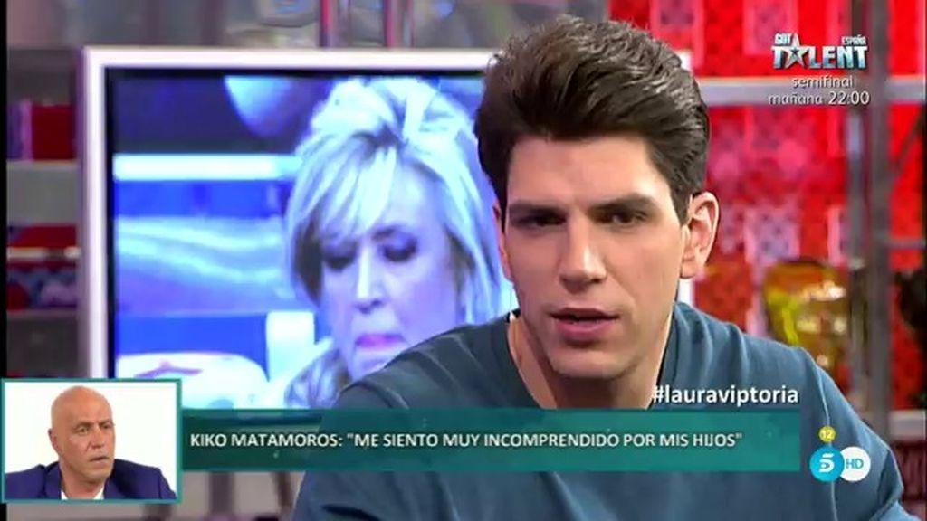 """Diego Matamoros: """"En el reencuentro de mi padre con Laura también hubo reproches"""""""