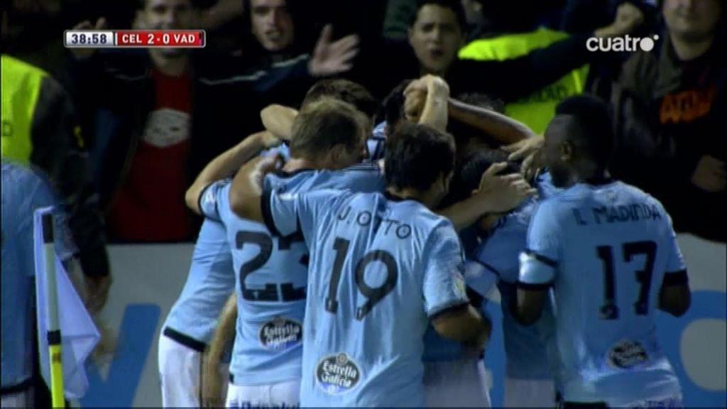 Gol de Charles (Celta 2-0 Valladolid)