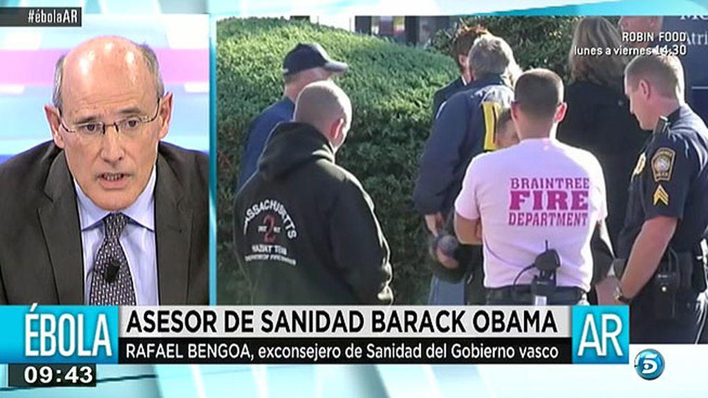 "Rafael Bengoa, asesor de sanidad de Obama: ""El consejero ha dejado desamparada a Teresa"""