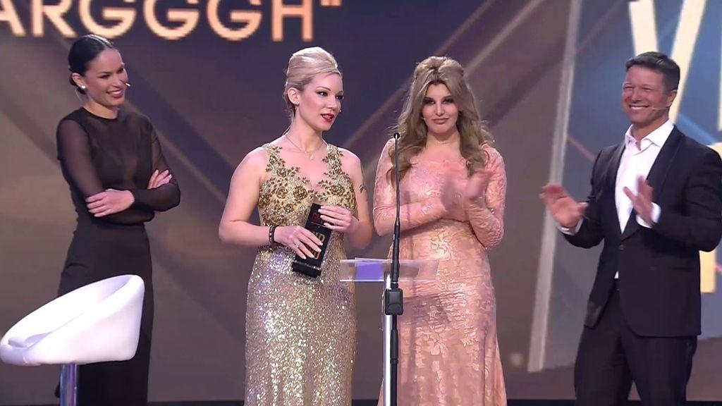 """Charlotte y Belén dedican su 'Premio ARGGGH' a Carlos Lozano por """"ser un actor"""""""