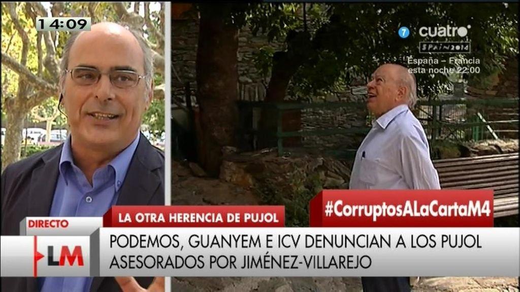 """Jaume Reixach: """"En 1987 censuraron un artículo mío en el que denunciaba a Pujol"""""""