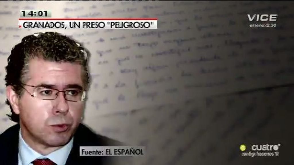 Protocolo antiterrorista con Francisco Granados para que no hable con la prensa