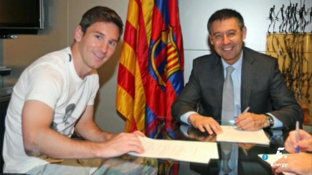 Messi podría cobrar hasta 24 millones de euros netos tras su renovación con el Barça