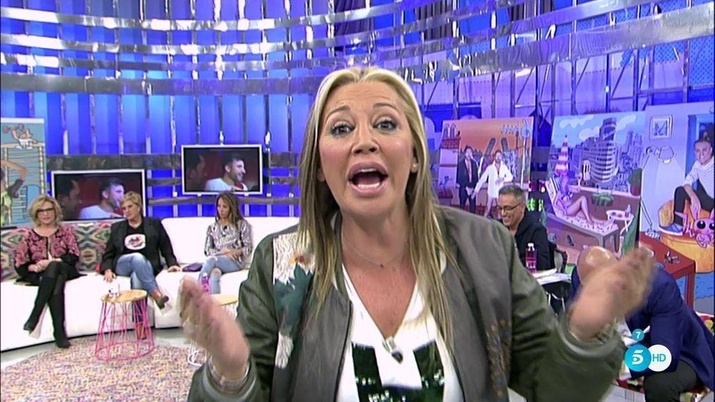 """Belén Esteban, a Toño Sanchís: """"Deja de mentir que tienes a todo el mundo engañado"""""""