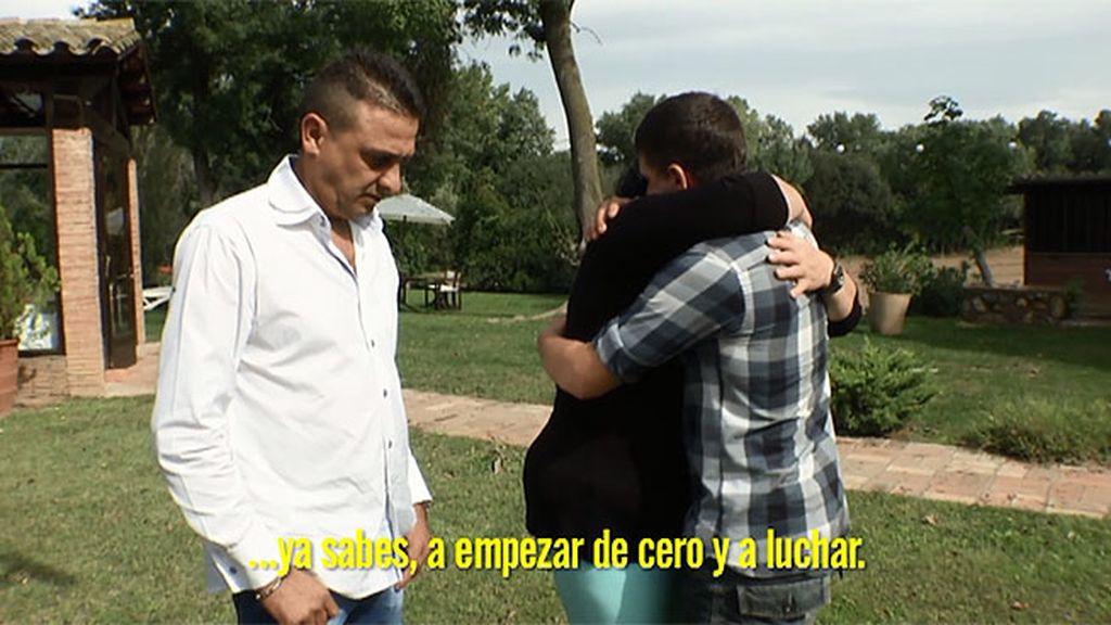 """José, a su familia: """"Os quiero, es hora de  aprender y empezar de cero"""""""