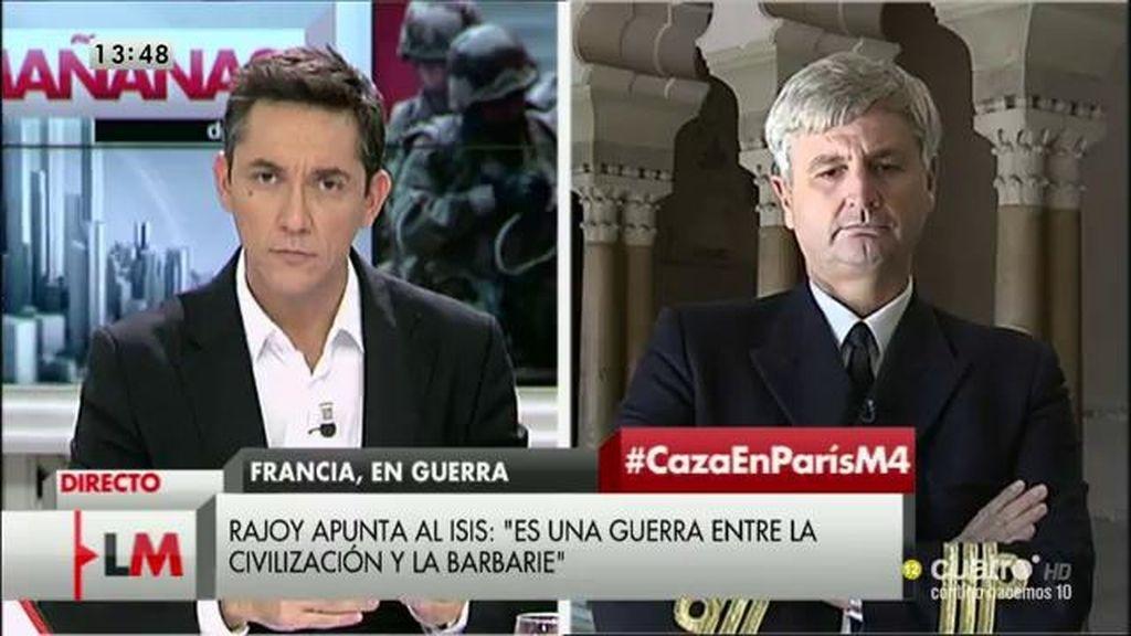 """Federico Aznar, capitán de fragata : """"Si la solución fuera sencilla, alguien la hubiera encontrado"""""""