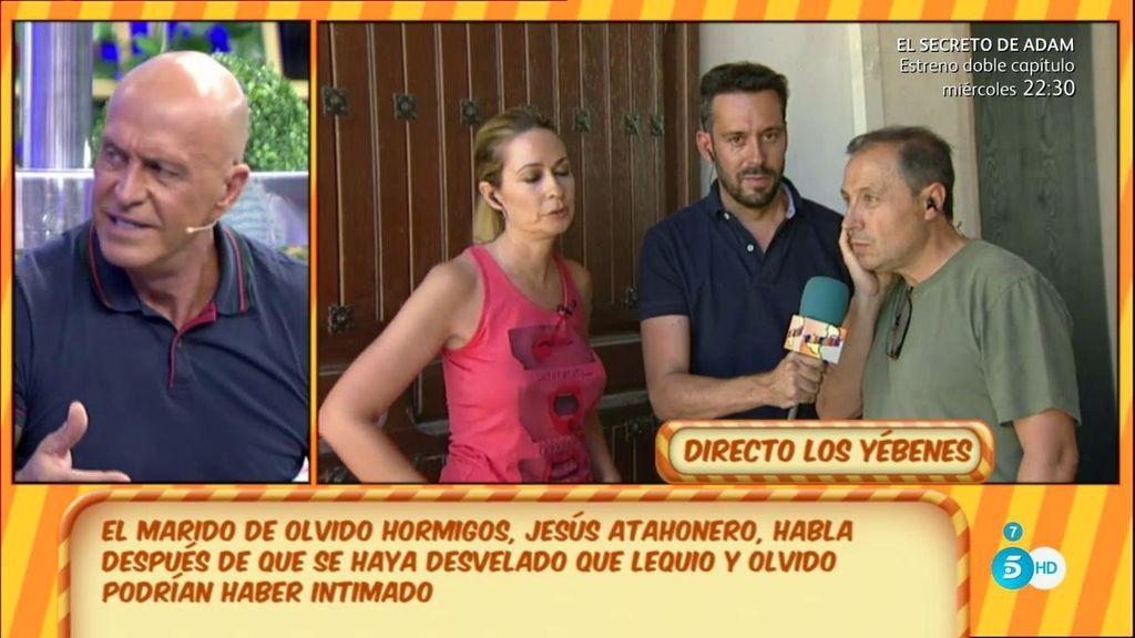 """Jesús Atahonero: """"Los problemas con mi mujer los tengo solucionados"""""""