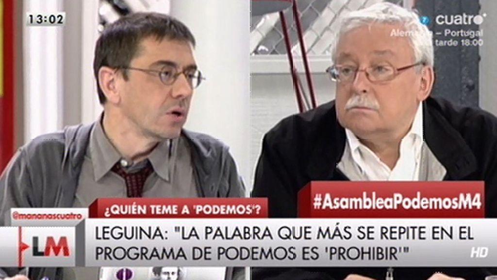 """Joaquín Leguina: """"El programa de Podemos es una carta a los reyes magos"""""""