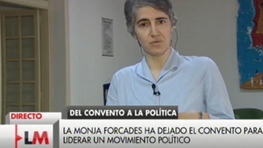 """Teresa Forcades, tras la polémica con los tuits: """"No deben de tener miedo y borrar su twitter"""""""