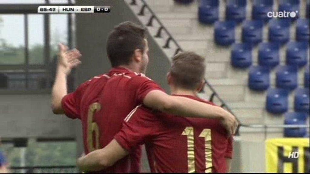 Saúl Níguez marcó el gol de la victoria
