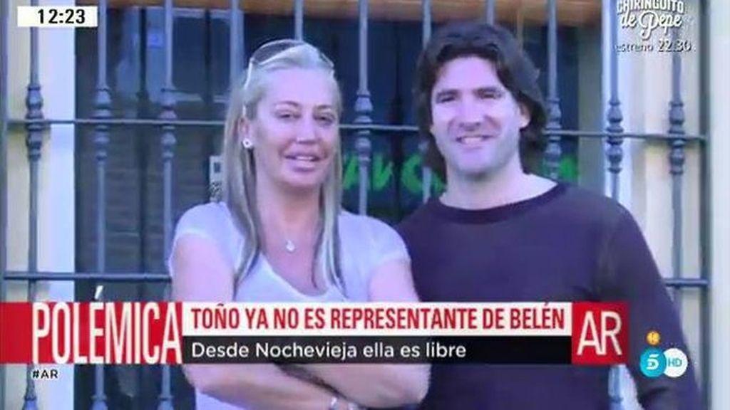 Toño ya no es representante de Belén Esteban