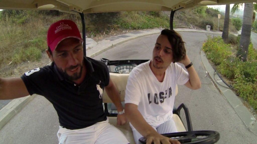 """¡El terrorífico momento de Alfredo en el """"buggy"""" conducido por Pedro!"""