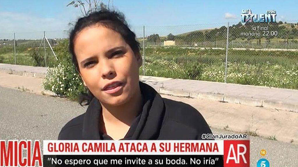 """Gloria Camila, de Rocío Carrasco: """"La gente falsa no me gusta, me da asco"""""""