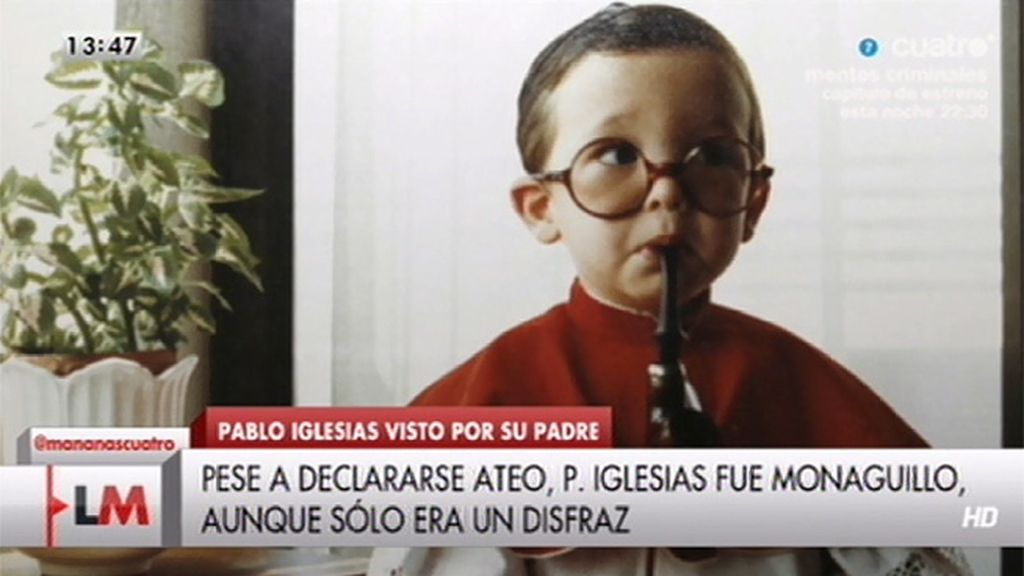 ¿Cómo era Pablo Iglesias de niño?