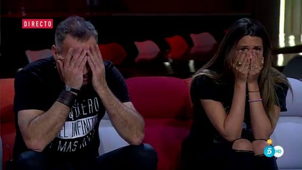 """Carlos, tras creerse la 'falsa final' de Jordi: """"Relájate un poquito"""""""