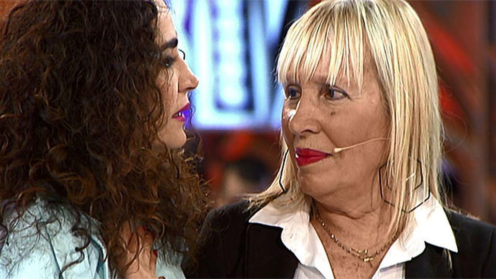 Las lágrimas de Cristina emocionan a Esperanza