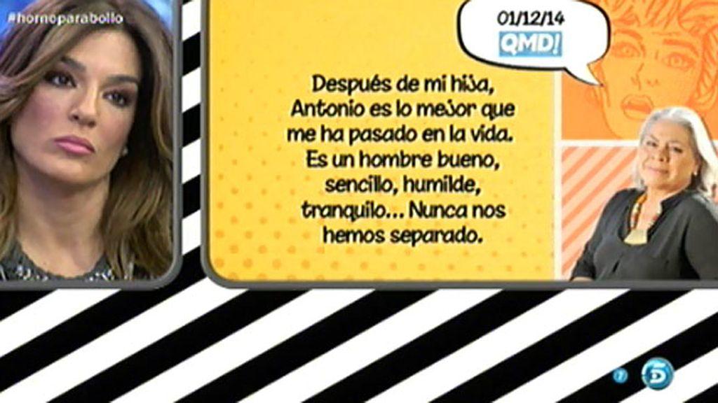 """Carmen Gaona, en 'QMD!': """"Me casaré con Chiquetete el próximo año en Sevilla"""""""