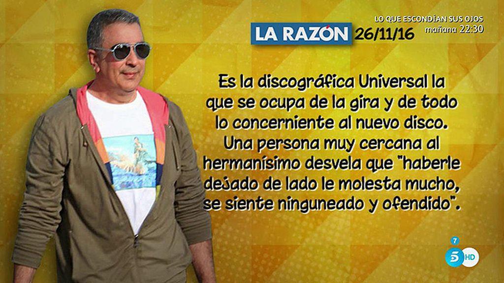 "Agustín Pantoja se siente ""ninguneado y ofendido"", según 'La Razón'"