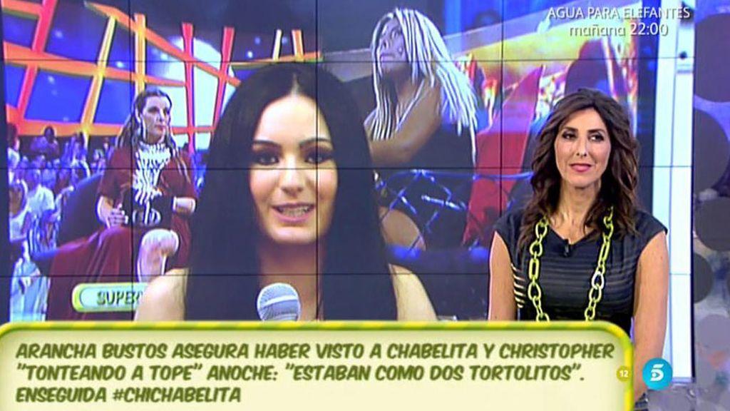 """Arancha, sobre Chabelita y Christopher: """"Se fueron juntos de la discoteca"""""""