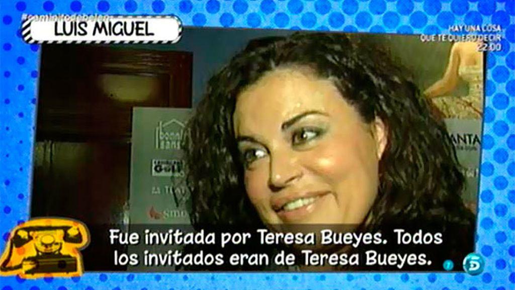 """Luis Miguel, sobre el despido de Teresa Bueyes: """"Son cosas personales"""""""