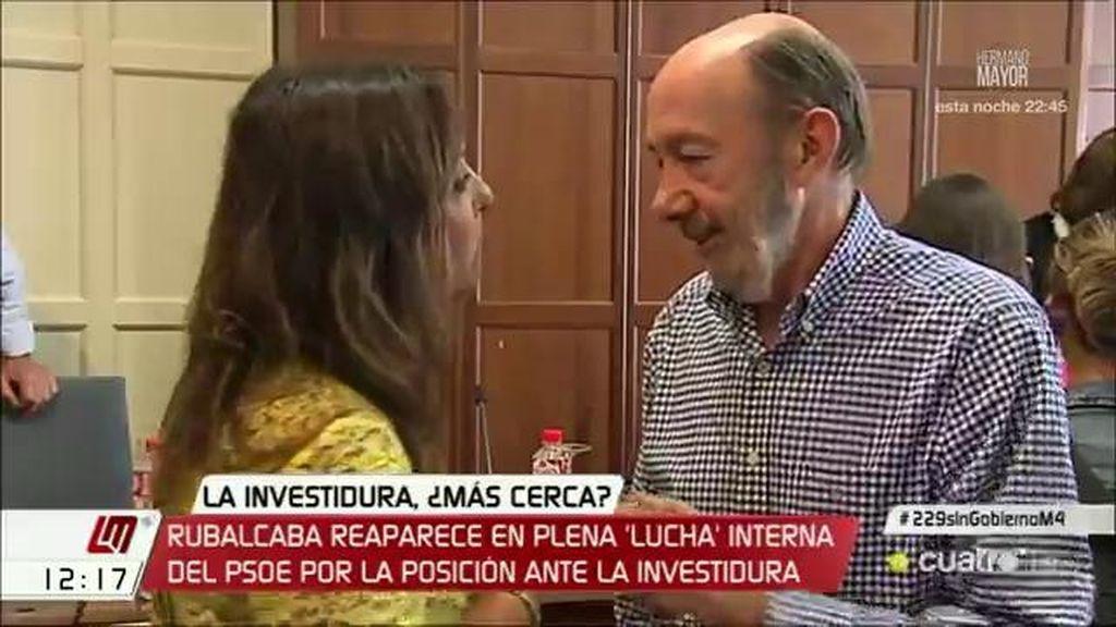 """Desirée Hernández: """"Rubalcaba cree que no es el momento para explicar su postura"""""""
