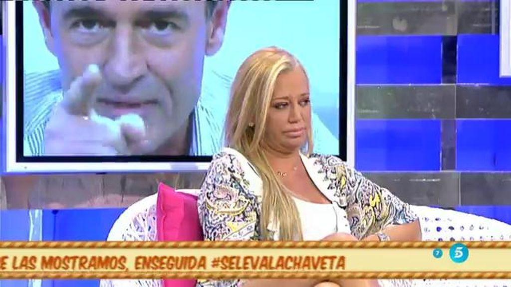 """Belén Esteban, al Conde Lequio: """"Se pide perdón mirando a la cámara y no riéndose"""""""