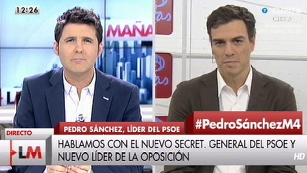 La entrevista con Pedro Sánchez, online