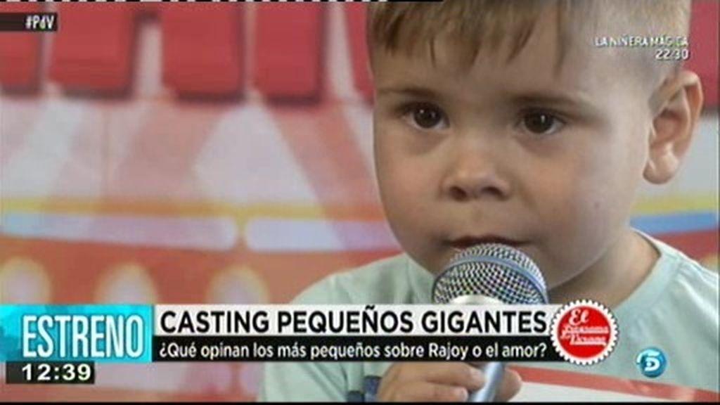 Los 'Pequeños Gigantes' hablan del Rajoy y del amor