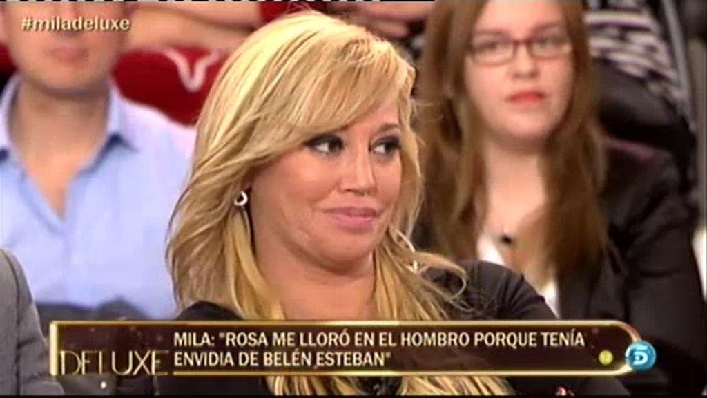 """Belén Esteban: """"Rosa Benito intenta hablar como yo, me copia"""""""