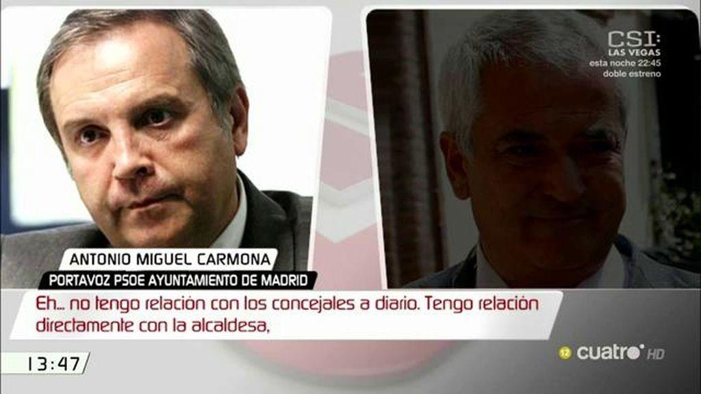 """Celia Mayer, de Carmona: """"Nos parece que es un hecho muy grave que un concejal opere con una organización criminal"""""""
