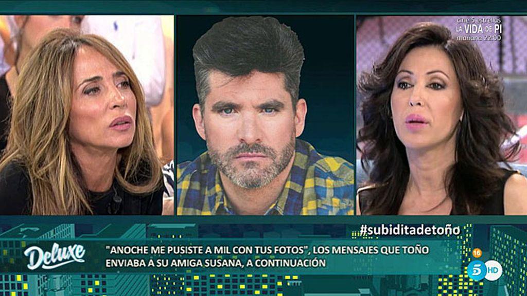 """Susana: """"Actualmente, Toño Sanchís sigue estando liado con Olvido Hormigos"""""""