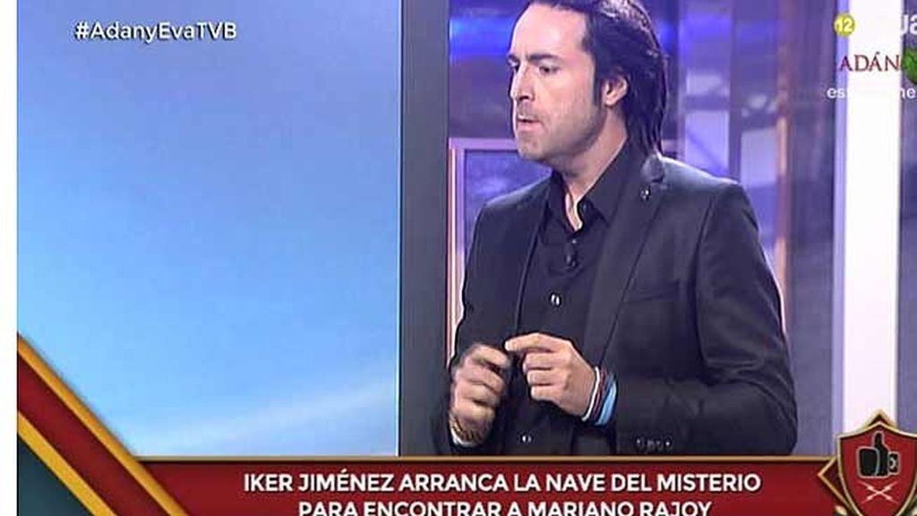 Iker Jiménez busca a un Mariano Rajoy desaparecido tras la consulta catalana