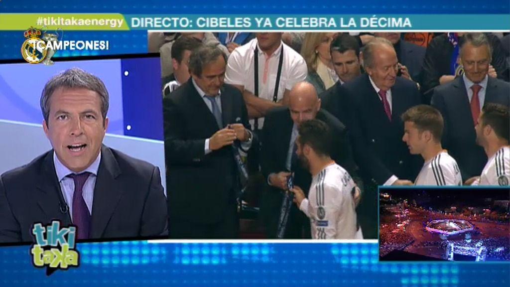Cristóbal Soria da la enhorabuena por la Champions a Simeone, al Atleti y a su afición