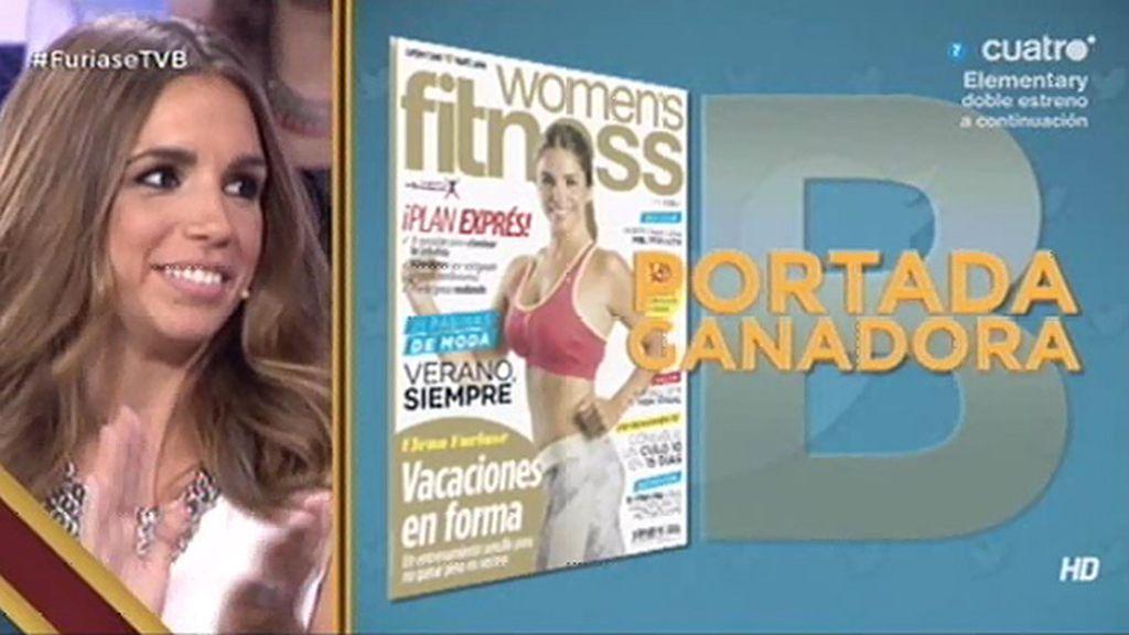 Los tuiteros de 'Todo va bien' eligen la portada de E. Furiase en 'Women's fitness'