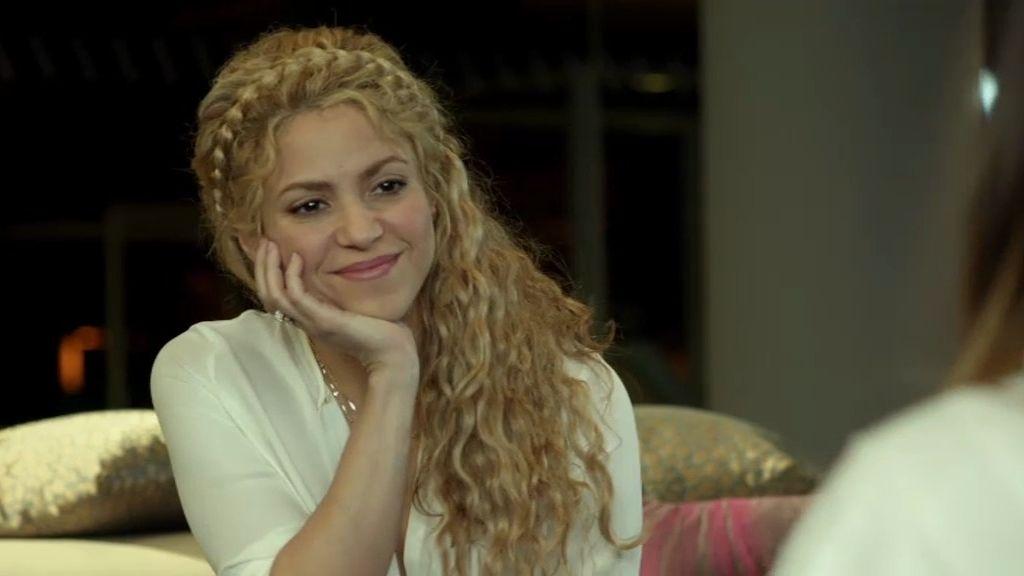 """Shakira: """"No me gusta verme en la televisión, siempre giro la cara"""""""