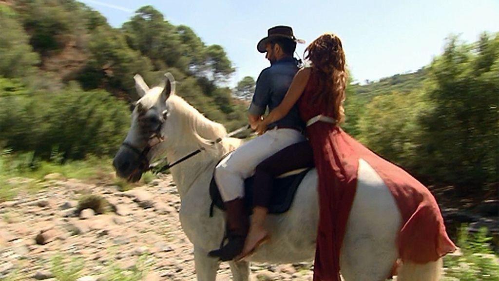 Alfredo, el hombre del caballo blanco